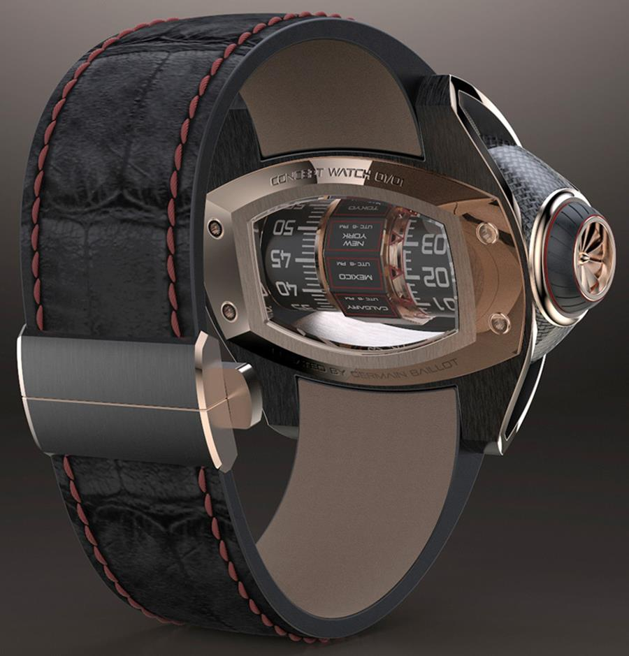 Germain Baillot Concept Watch 4