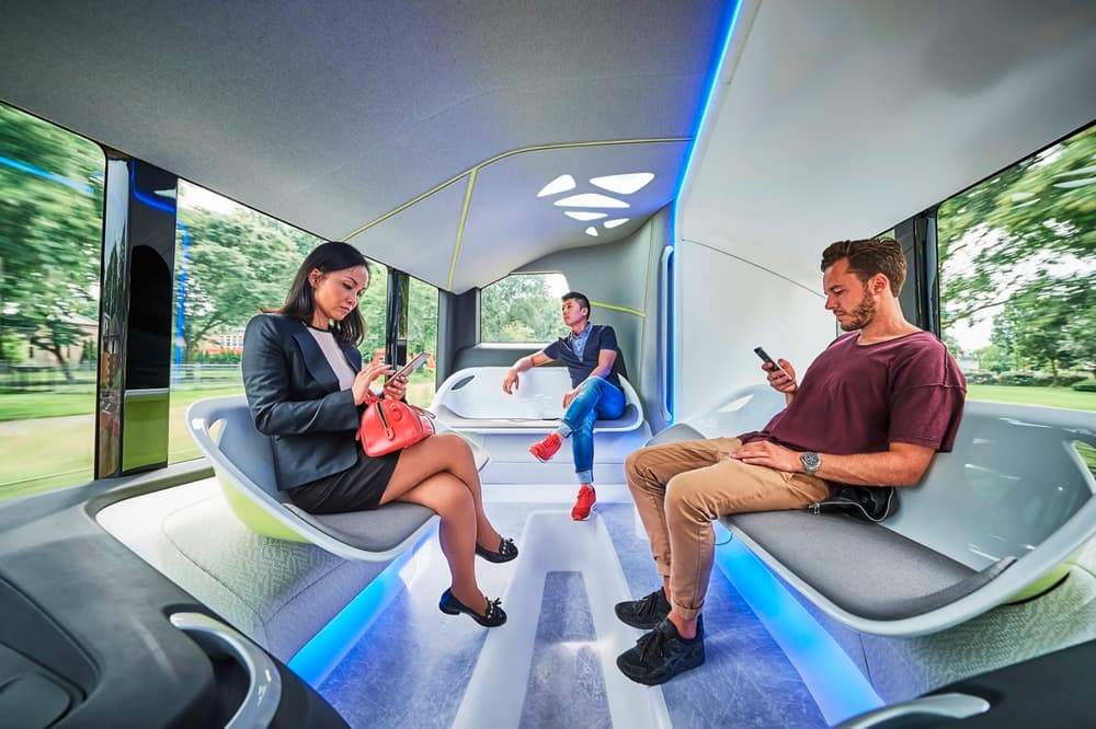 mercedes benz future bus